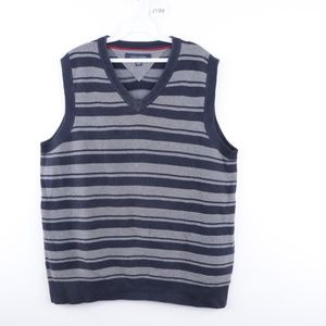 Vtg Tommy Hilfiger Mens Medium V Neck Sweater Vest